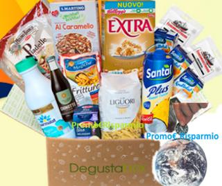 Logo Degustabox back to school : codice sconto,2 prodotti omaggio e consegna in tutta Italia