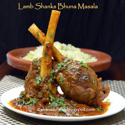 Lamb Shanks Bhuna Masala