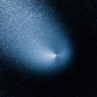 Обработанный снимок кометы C/2013 A1 Сайдинг-Спринг