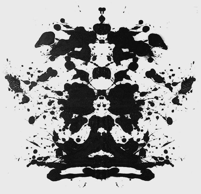 a Rorschach inkblot image