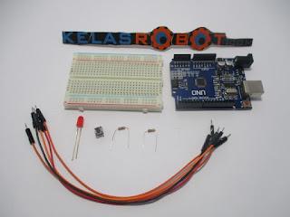 Menghidupkan Dan Mematikan LED dengan Satu Tombol – Program Arduino Button