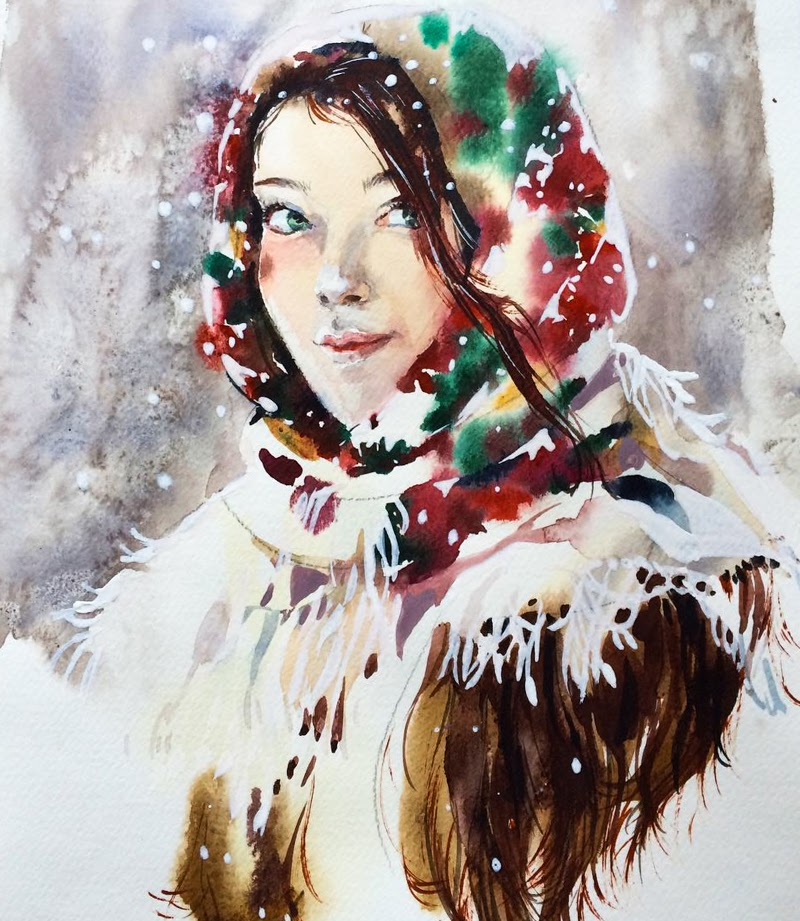 Paintings by Marina Ignatova from Tolyatti, Russia.