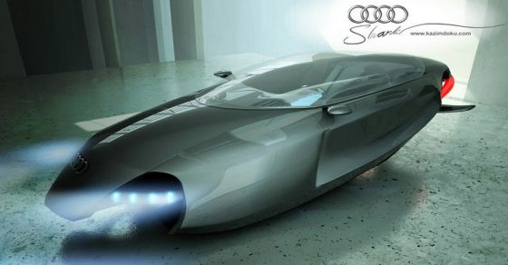 Audi Concept Car- Audi Shark THAT MAY Change THE CONTINUING FUTURE OF Automobile
