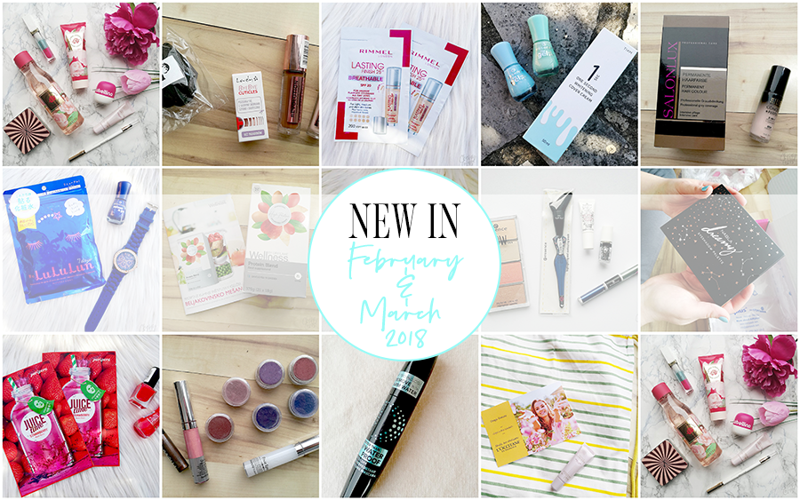 New in: February & March 2018