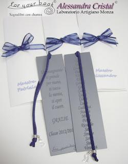 segnalibro inciso regalo maestre elenco alunni