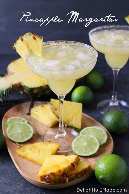 pineapple margarita cocktail recipe