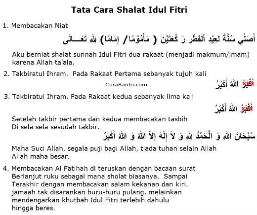 Waktu Pelaksanaan Shalat Idul Adha