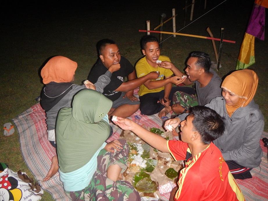 Kebersamaan Peserta seleksi JPI tingkat Kabupaten Bojonegoro tahun 2014