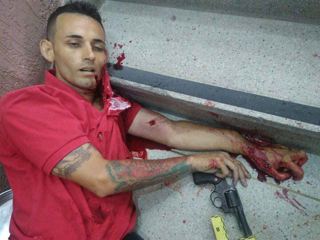 Bandido é morto a tiros ao tentar assaltar