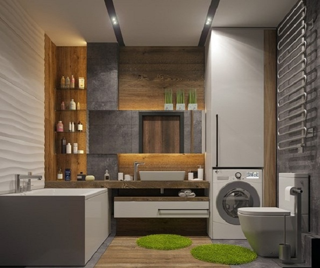 Phòng tắm ốp gạch đẹp