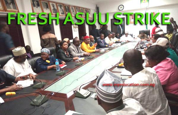 ASUU Threatens Fresh Strike As FG Gives Dump Ears