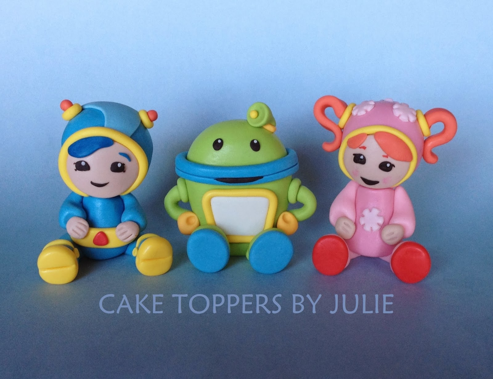 Team Umizoomi Cake Toppers Uk