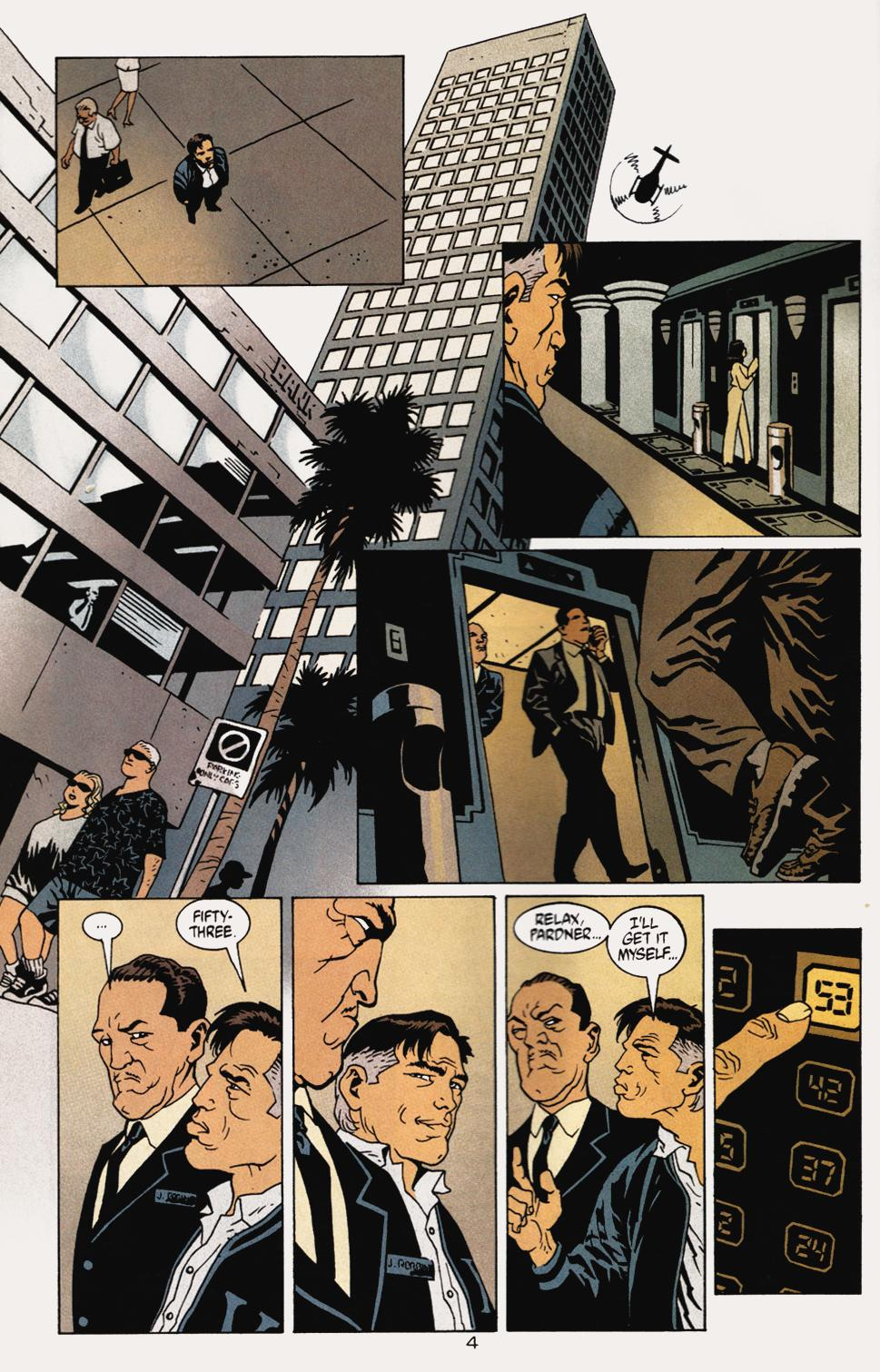 Read online 100 Bullets comic -  Issue #5 - 6