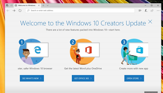 cara install windows 10 creators update