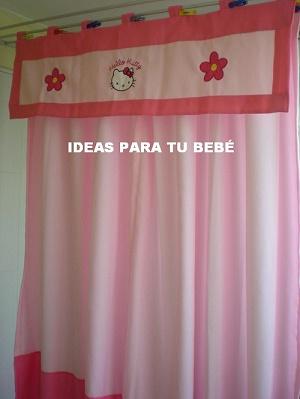 Ideas para tu bebe cenefas de ventana o bando de cortinas for Ideas para cortinas infantiles