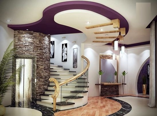 latest gypsum board false ceiling design for living room pop design for hall 2020