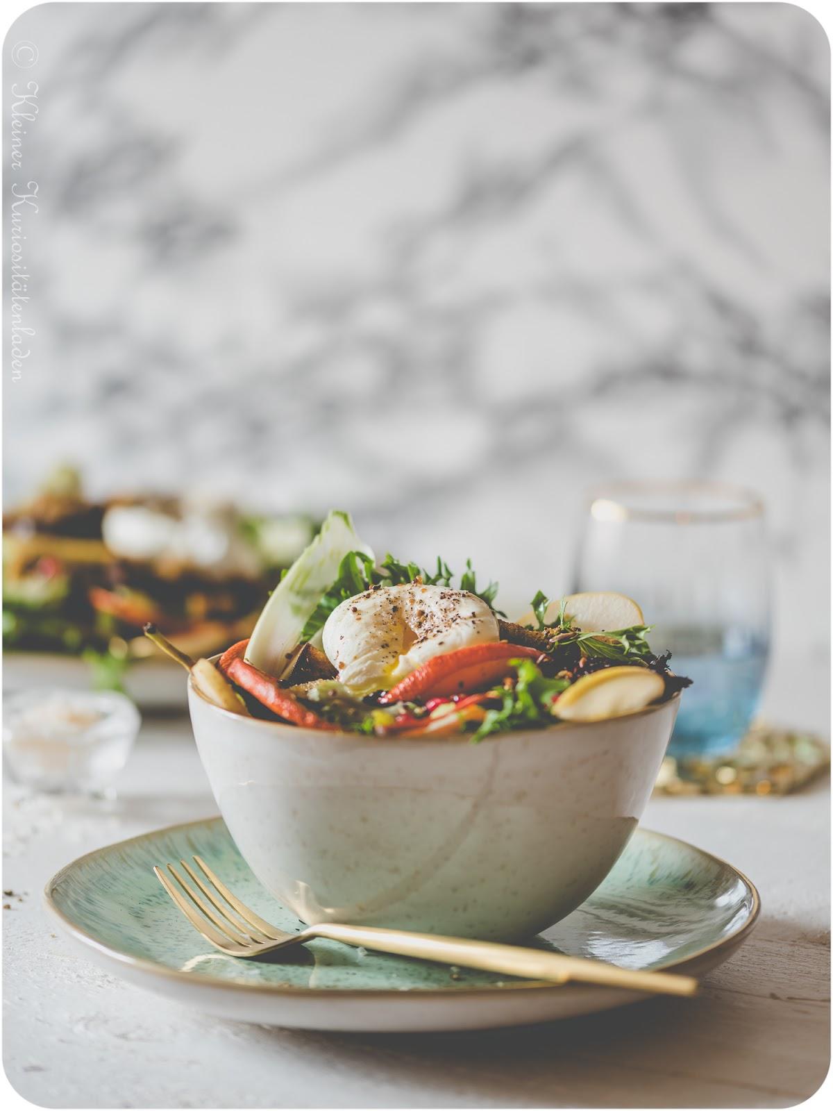 Bittersüßer Herbstauftaktsalat
