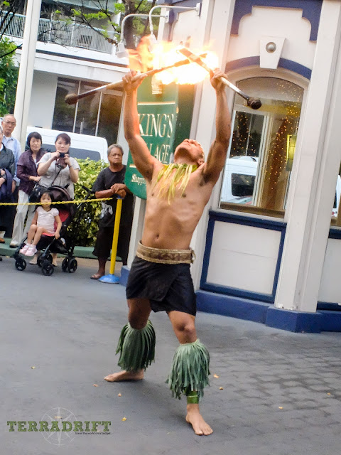 Catch a free fire dance in Waikiki for a taste of Polynesian Culture
