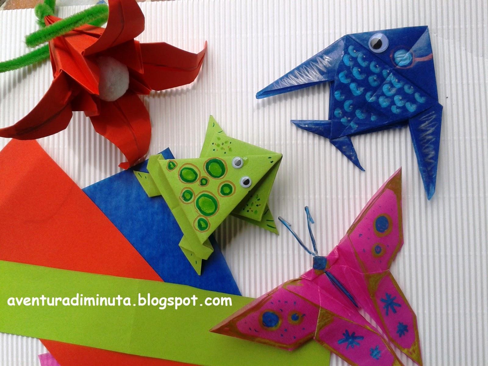 Aventura diminuta origami papiroflexia en educaci n - Origami para todos ...