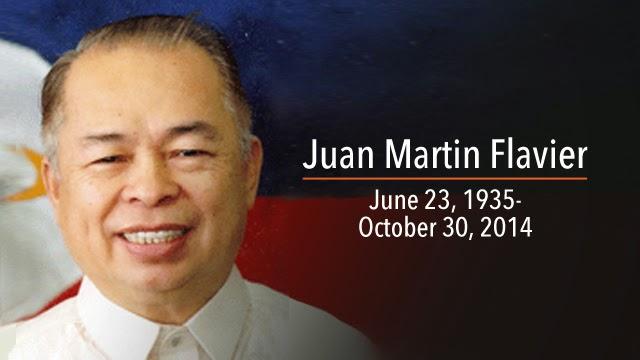 Former Senator Juan Flavier