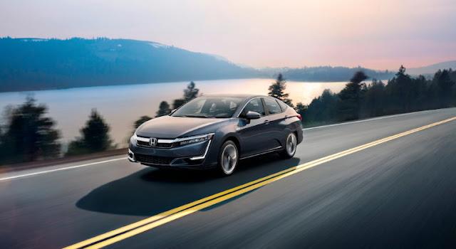 Гибрид Honda Clarity выходит на рынок