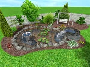Contoh Desain Taman
