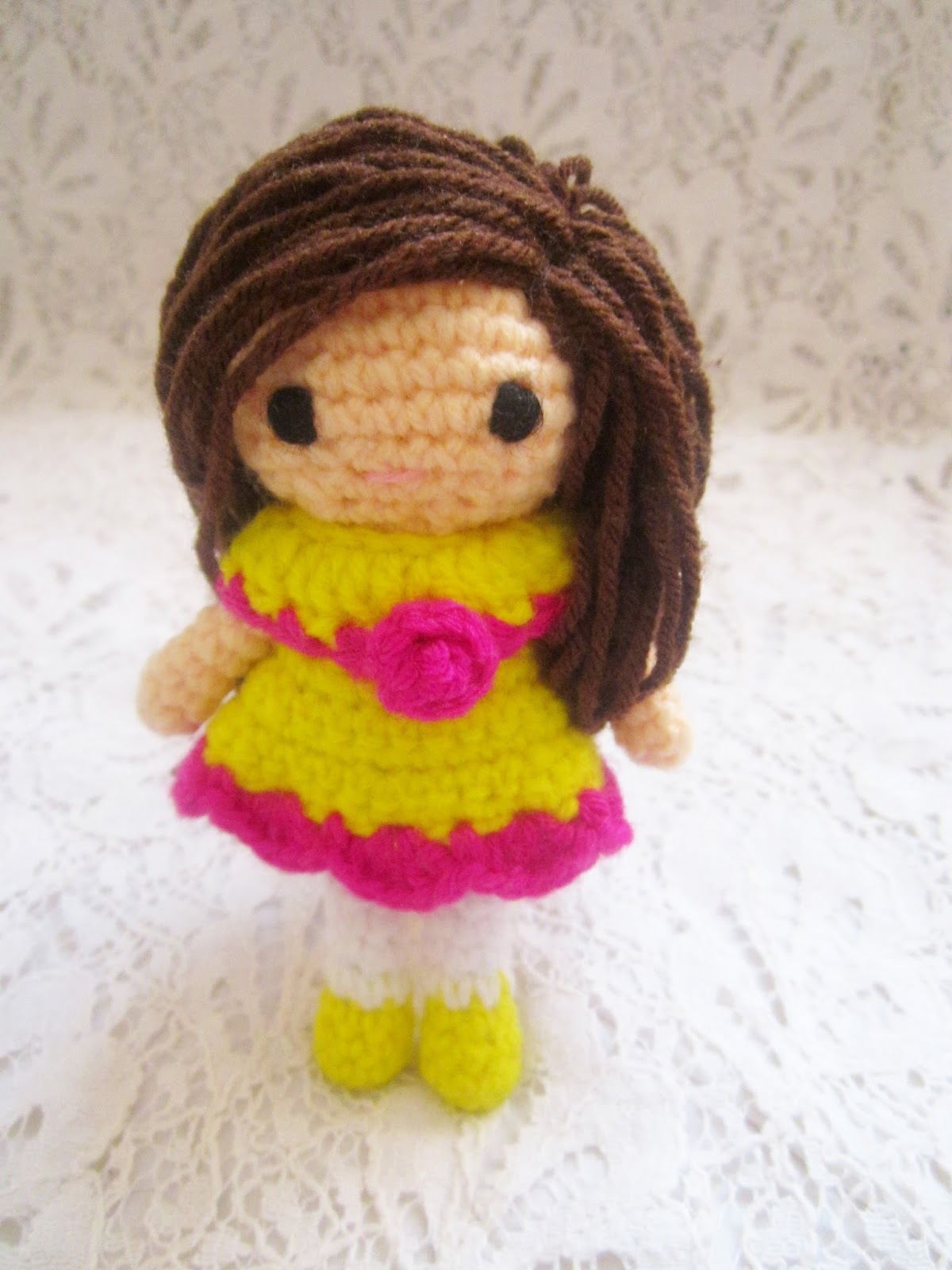 Amigurumi Pattern Dolls : Little Amigurumi doll pattern. - A little love everyday!