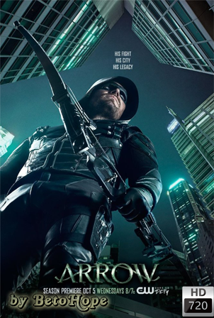 Arrow Temporada 5 [720p] [Latino-Ingles] [MEGA]