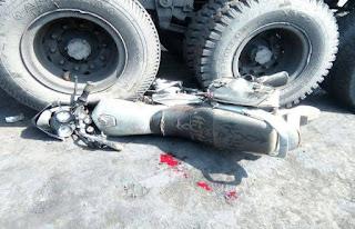 औरंगाबाद में ट्रक से कुचल कर मौत