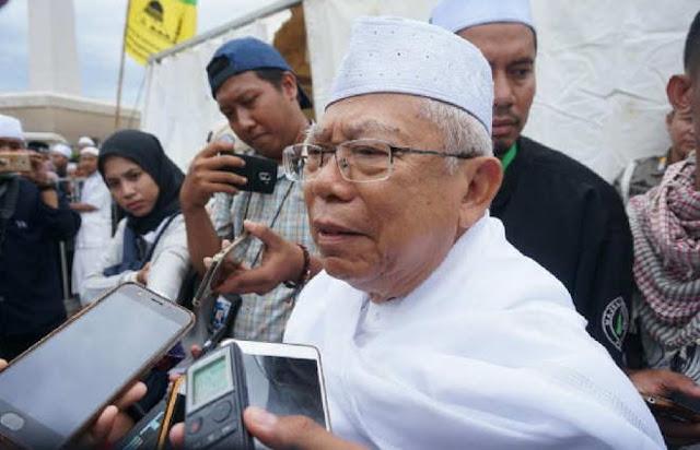 Ma'ruf Amin Tak Percaya Ustaz Somad Diancam Ceramah di Jawa