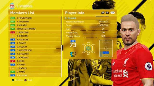 PES 2016 Update Transfer for PTE 6.0