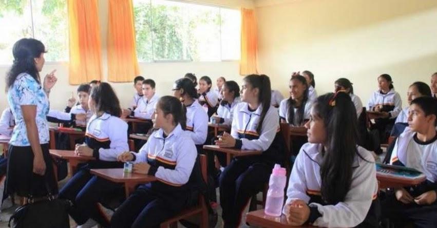 Región San Martín propone incorporar curso de seguridad ciudadana en colegios