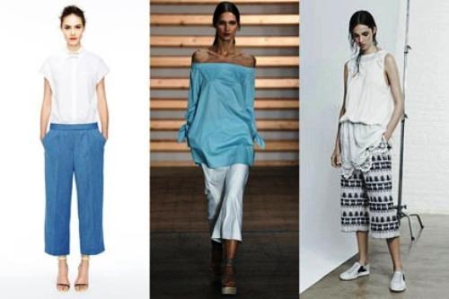Model celana kulot pendek modern