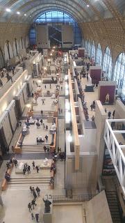 מראה המוזיאון מהקומה העליונה