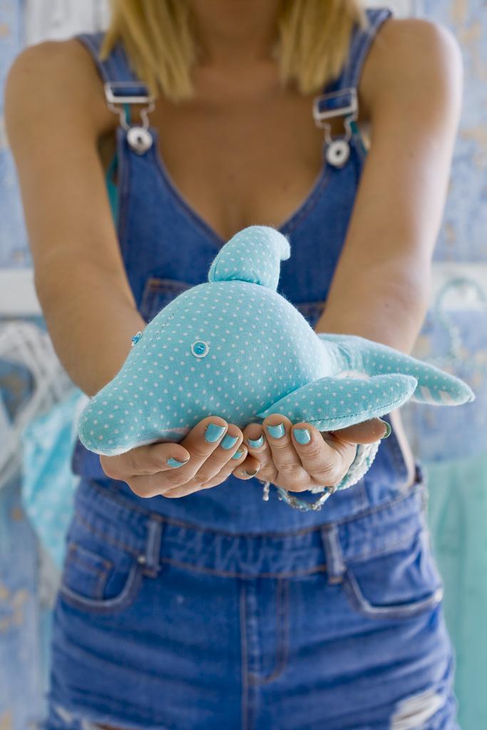 delfin przytulanka