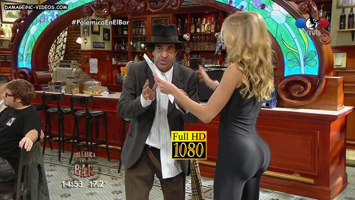 Virginia Gallardo superb booty in tight pants damageinc videos HD