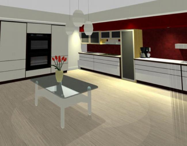 Design interior bucatarie casa bucuresti