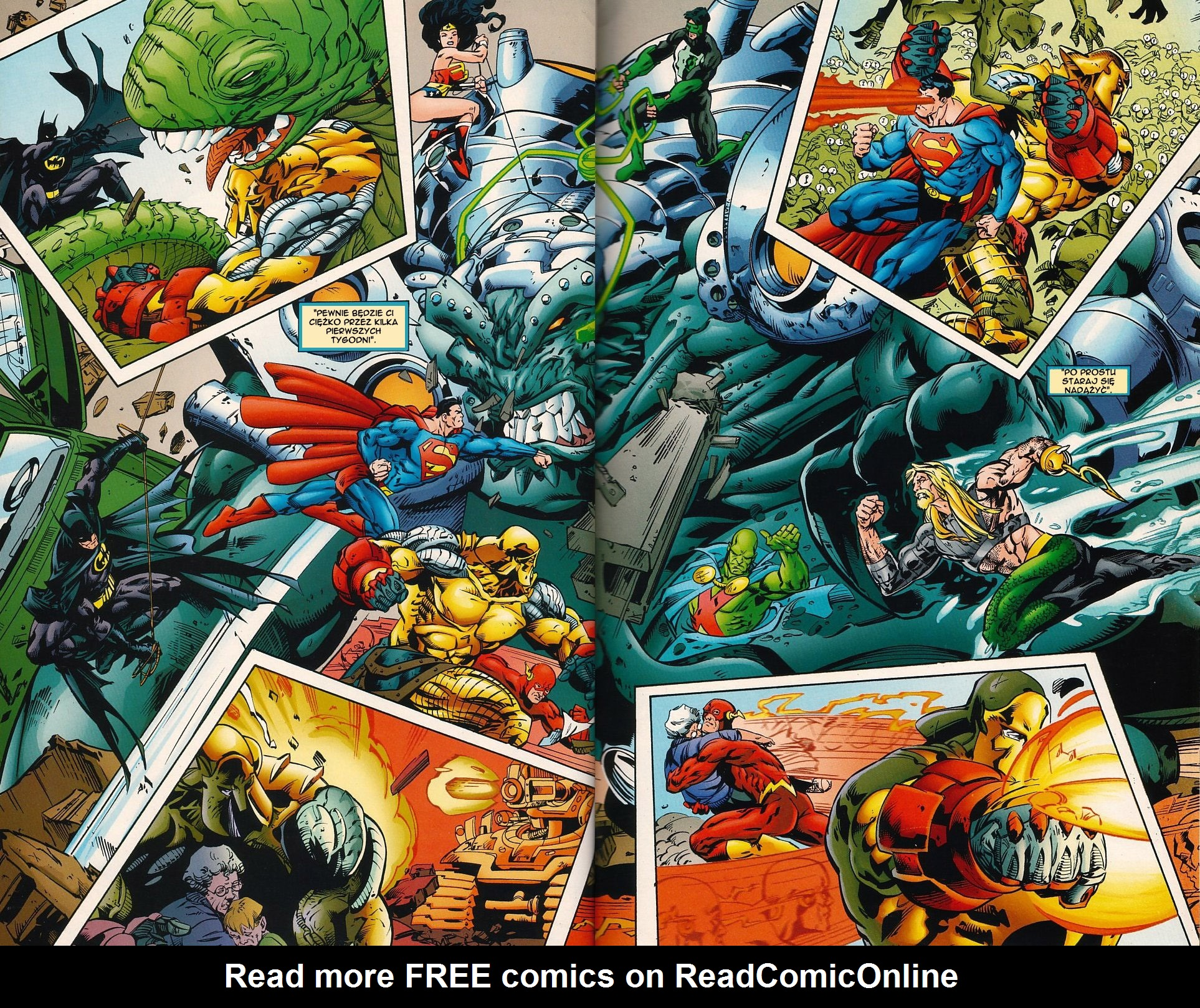 Read online JLA Superpower comic -  Issue # Full - 25