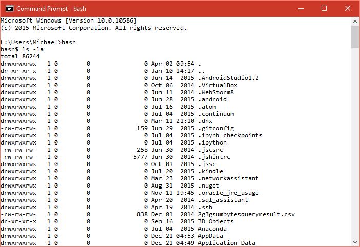 how to run bash script in windows