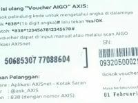 Cara Memasukkan Voucher Internet Kartu Axis