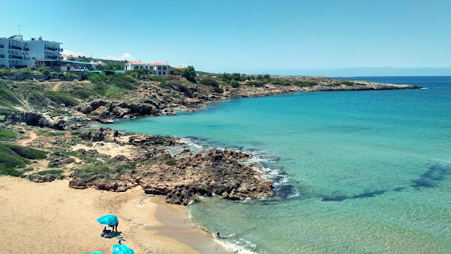 piękne plaże na Krecie, turkusowa woda