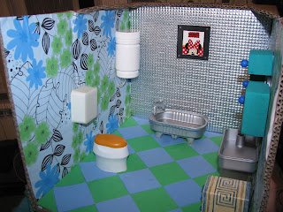 DIY Doll House Bathroom