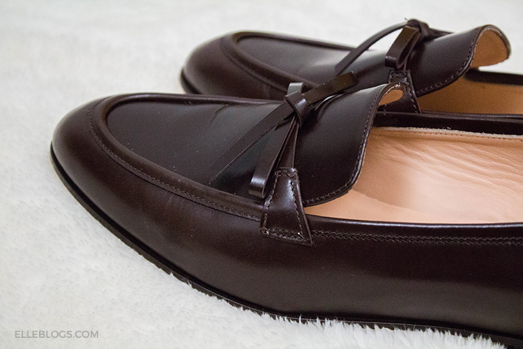 699a2c6e756 Review  J.Crew Academy Loafers in Leather (Now On Sale) - Elle Blogs