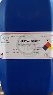 detergente para ropa marca determax colors