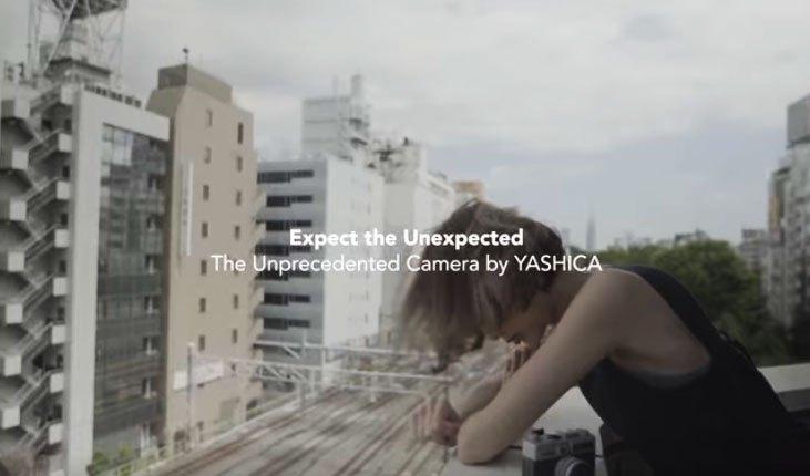 Кадр из рекламного ролика Yashica