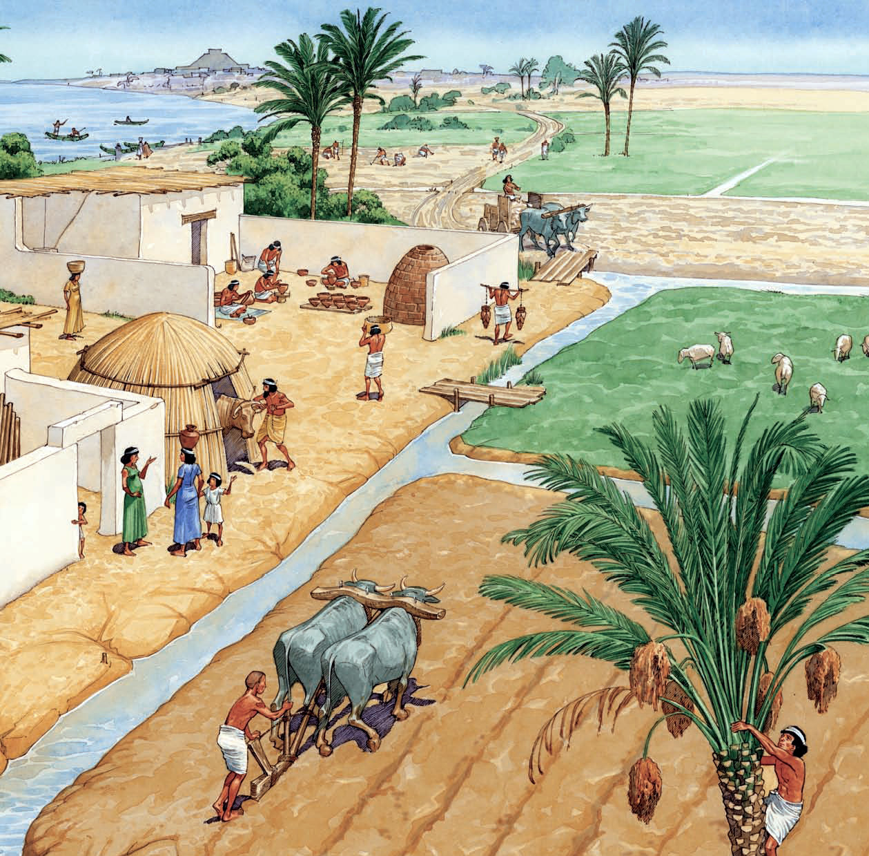 Why Did Early Civilizations Develop in Mesopotamia?