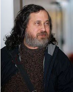 Richard Stallman in Oslo, Norway 2009