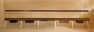 Mid Century Modern Bench, windsor