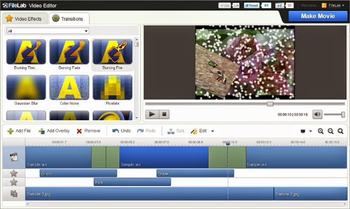 visualartzi free video editor online