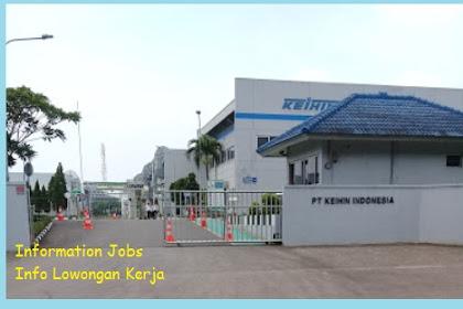 Lowngan Kerja Terbaru PT. Keihin Indonesia